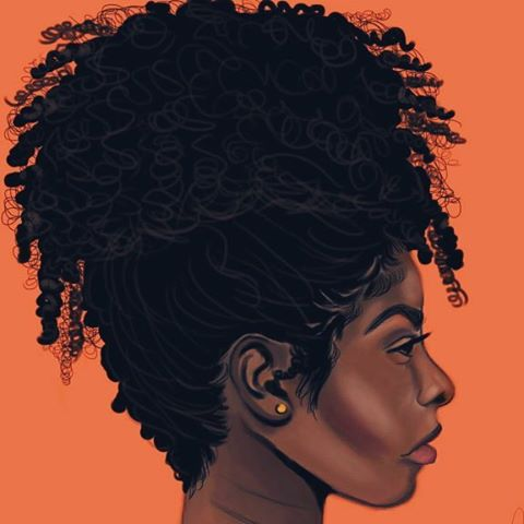 480x480 Collection Of Tumblr Black Girl Drawing High Quality, Free