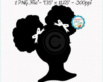 340x270 Afro Puffs Hairstyle Etsy