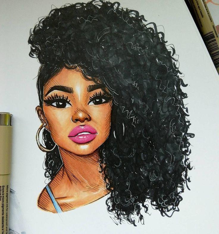 736x785 1004 Best Afro Art Images On Black Women Art, Afro Art