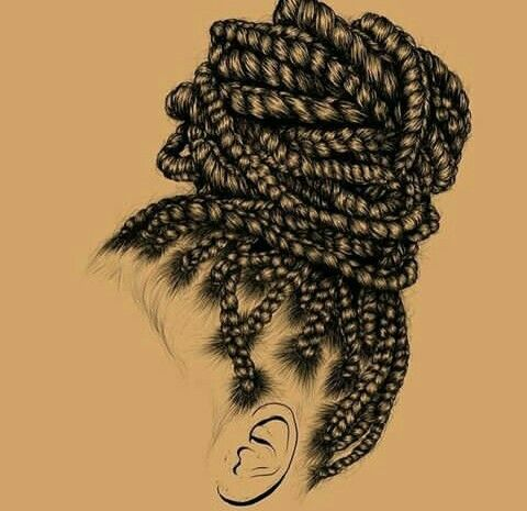 480x465 Pin By Crystal Guider On Art Black Women Art, Draw