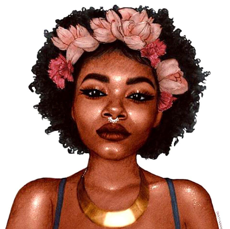 960x955 Afrodesiacworldwide Afro Art Draw