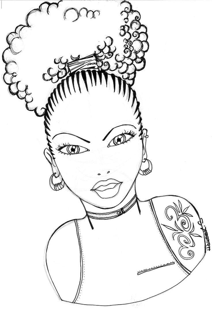 736x1076 110 Best Afro.natural Hair Illustration Art Images