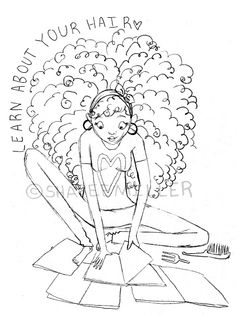 236x315 Natural Hair Art