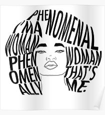 210x230 Natural Hair Art Posters Redbubble