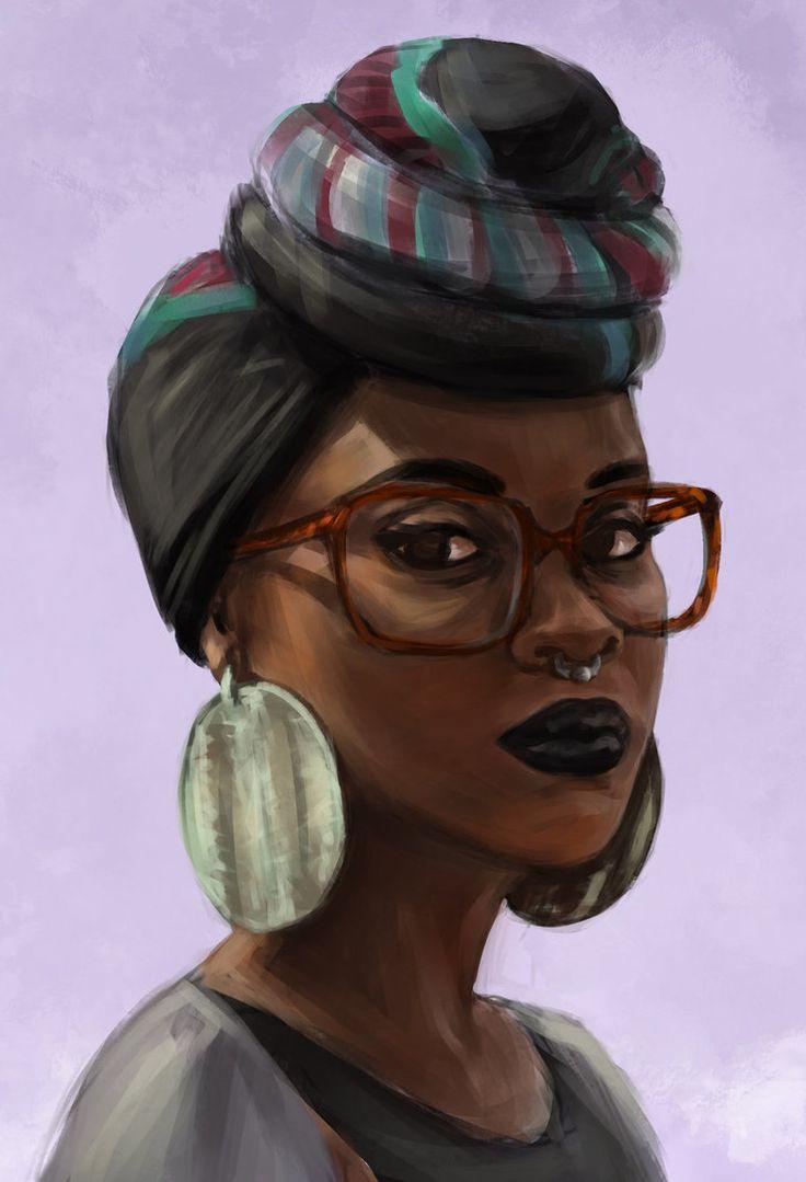736x1079 Natural Hair Drawings Pencil Drawings Of A Black Girl's Face Girl