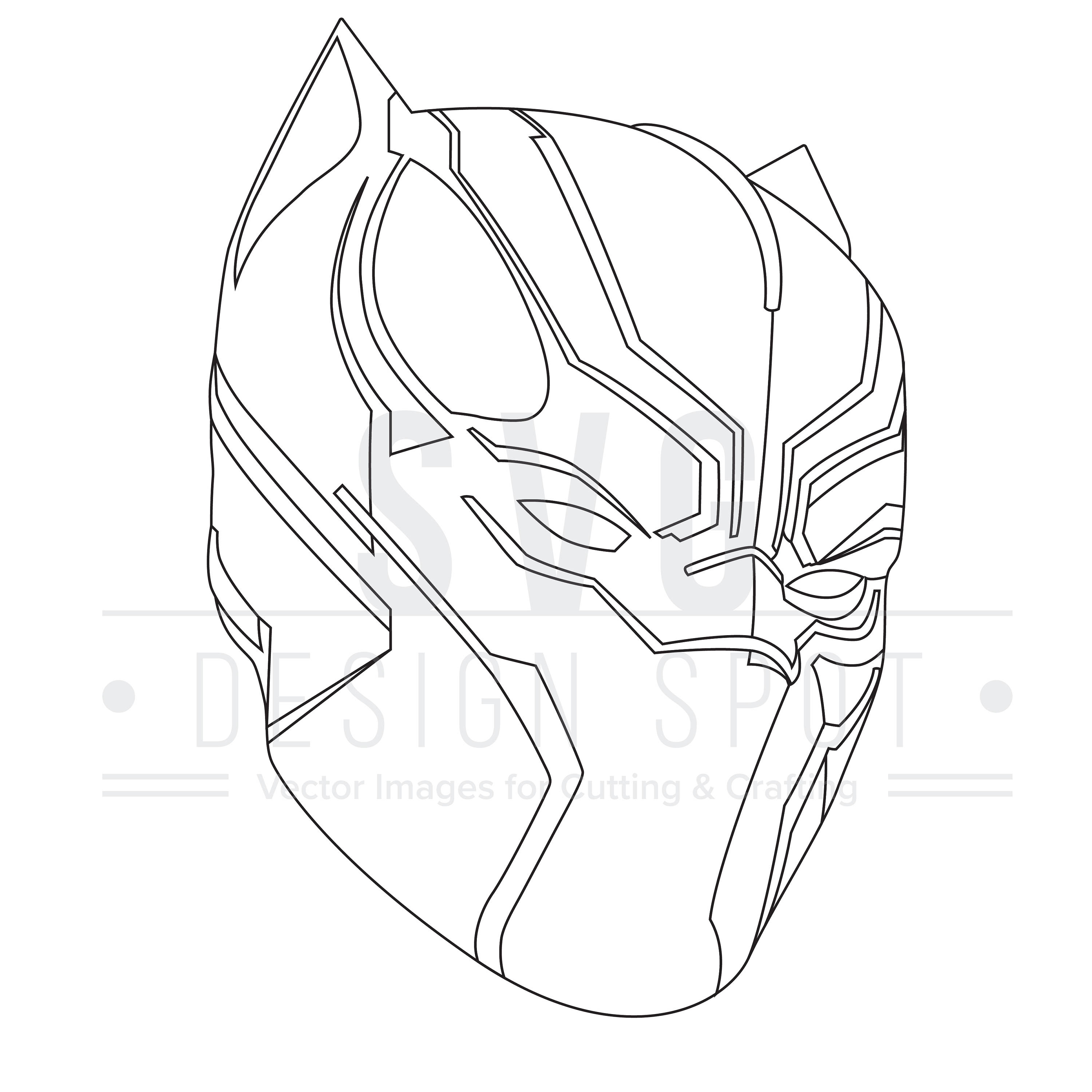 Black Panther Drawing Marvel