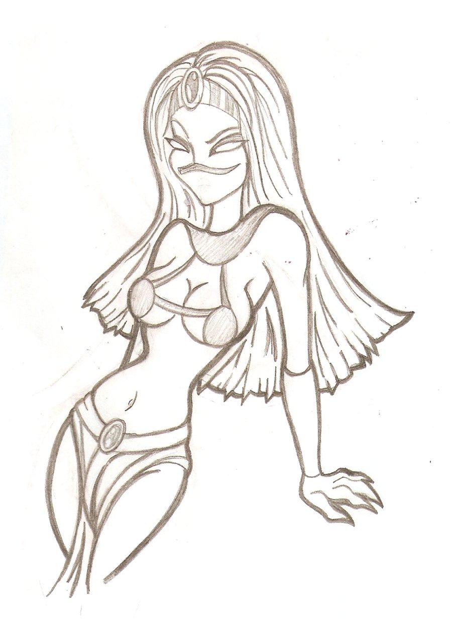 900x1232 Martian Queen Sketch By Prepare Your Bladder