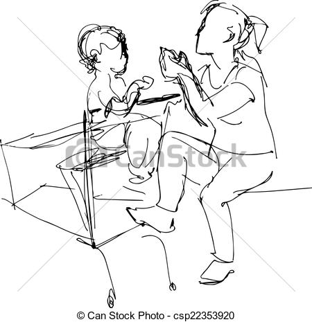 450x465 Kids Sitting On A Bench Illustrations And Stock Art. 65 Kids