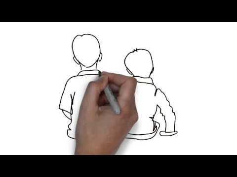 480x360 How To Draw Boys Sitting