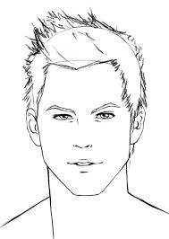 189x266 Image Result For How To Draw A Boy Face Easy Hairstyles