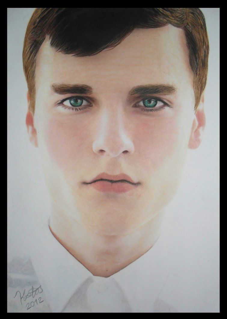 755x1059 Colored Pencil Drawing Realistic Portrait Of A Boy By Kakosuranosx