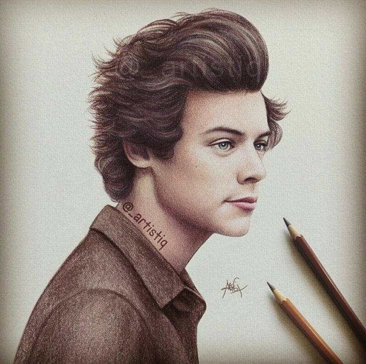 736x732 Realistic Sketches And Drawings Of Boy Band Celebrities One