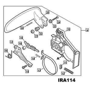 300x281 P021048910 Genuine Echo Chainsaw Chain Brake Assembly Cs 271t Ebay