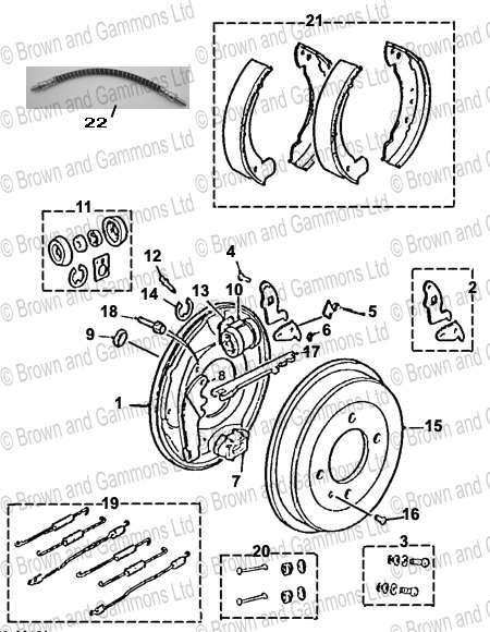 450x580 Rear Brake Drum