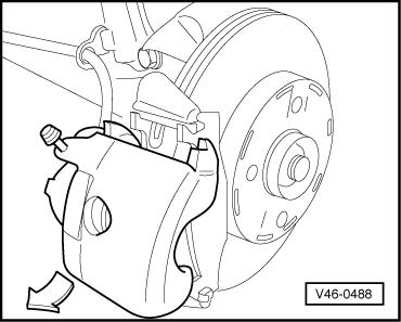 370x297 Volkswagen Workshop Manuals Gt Golf Mk2 Gt Running Gear Gt Brake