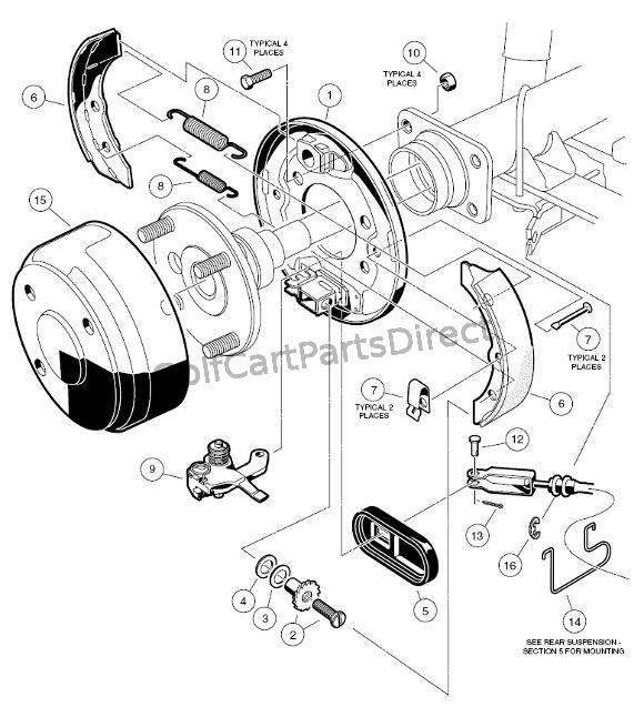 580x637 Brake Assembly
