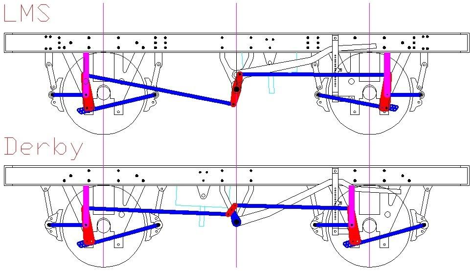 967x554 Lms, Derby Amp Lner Clasp Brake Underframes Rumney Models
