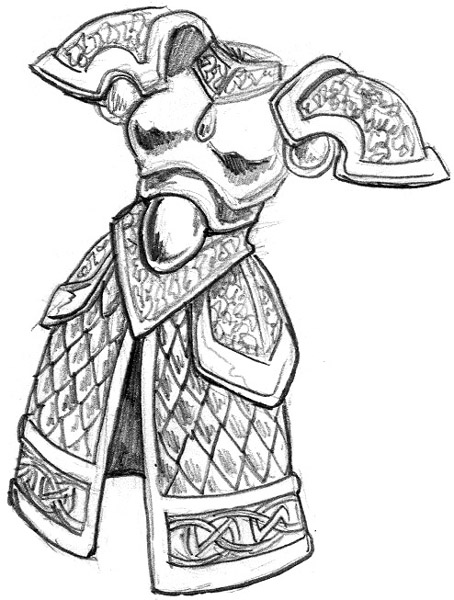Breastplate Drawing