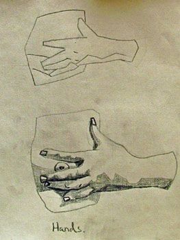 263x350 Plate 1,15 Hand Of A Woman Pressing Her Breast Bargue Drawings