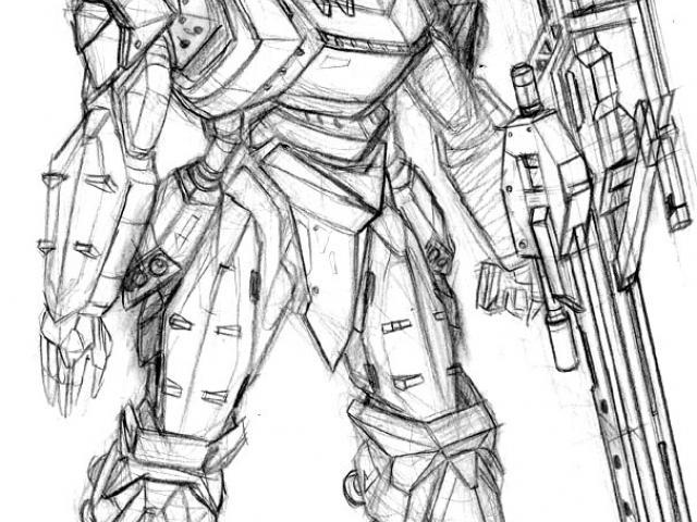 640x480 Drawn Armor