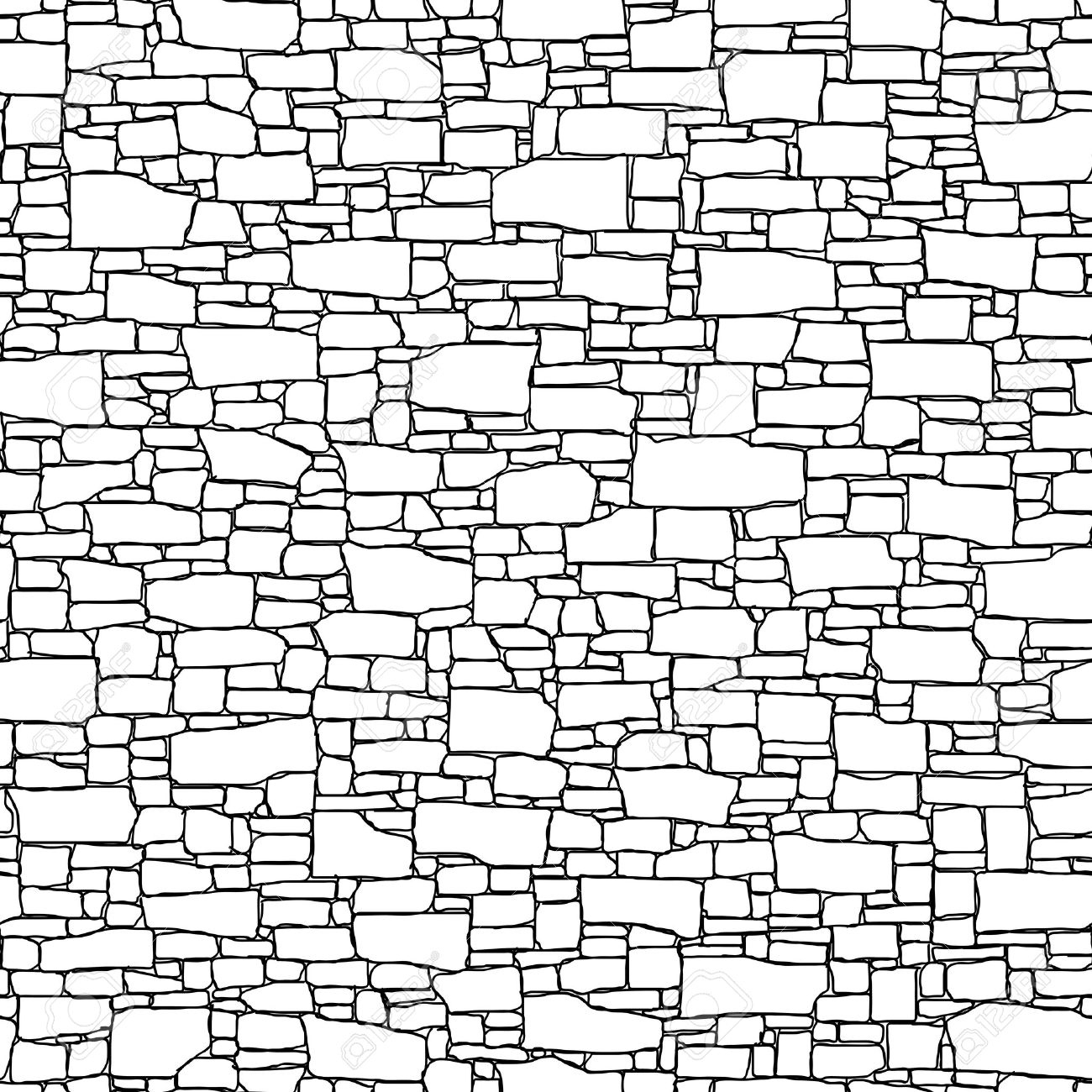 1300x1300 Clipart Of A Black Picture Frame Hanging Over White Brick Wall