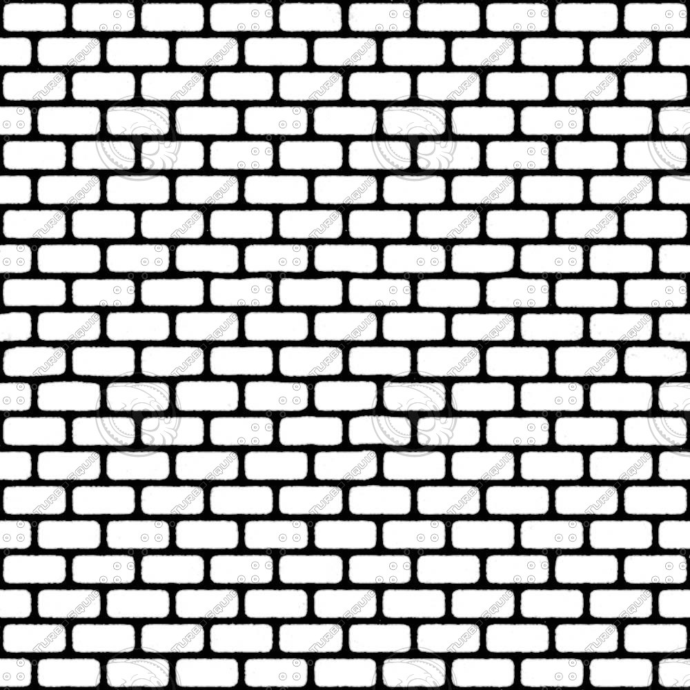 1000x1000 Collection Of Brick Wall Texture Drawing High Quality, Free