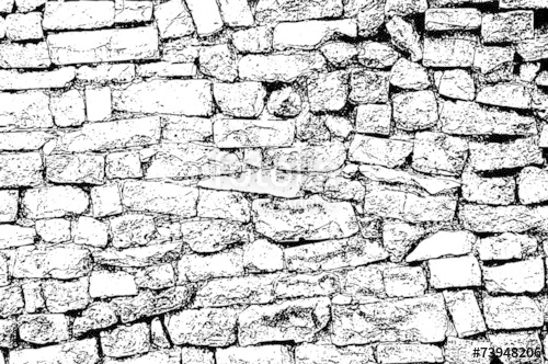 500x332 Brick Wall Texture Background Old Rough Masonry Stock Image
