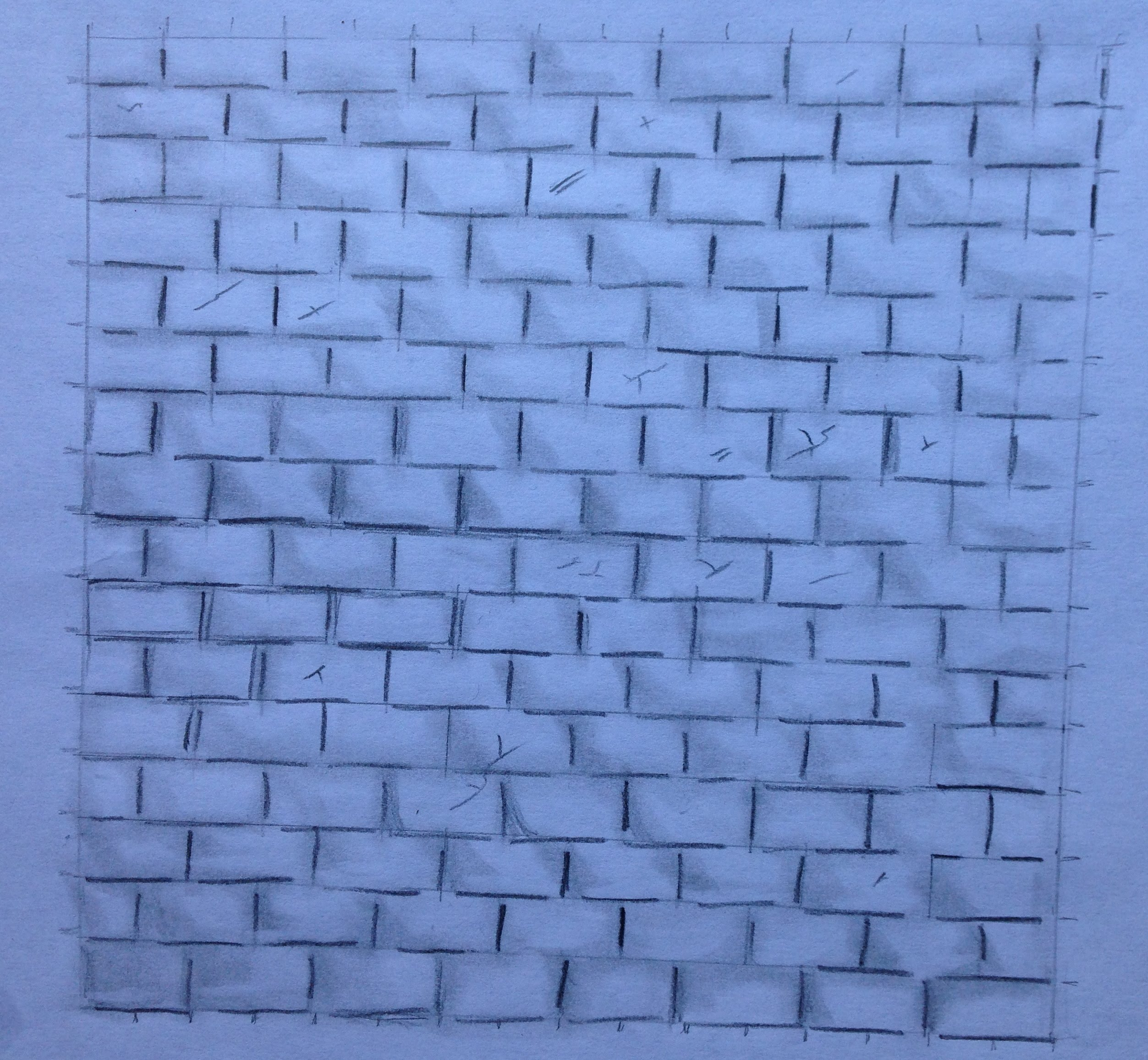 2505x2313 How To Draw A Brick Wall Step By Step