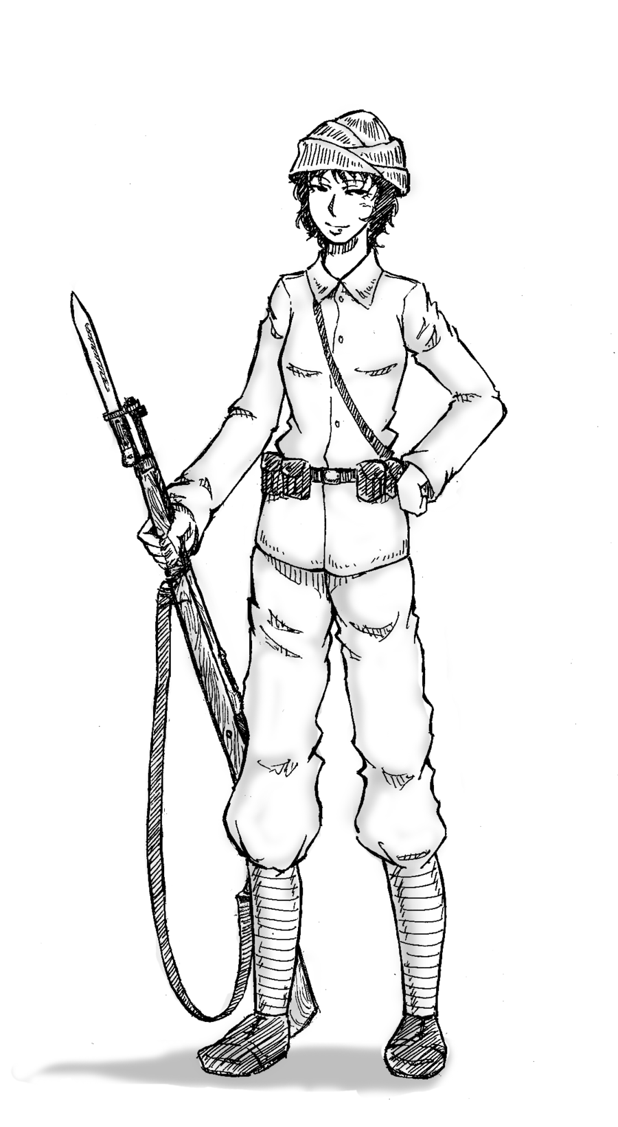 900x1641 Collection Of Ww1 British Soldier Drawing High Quality, Free
