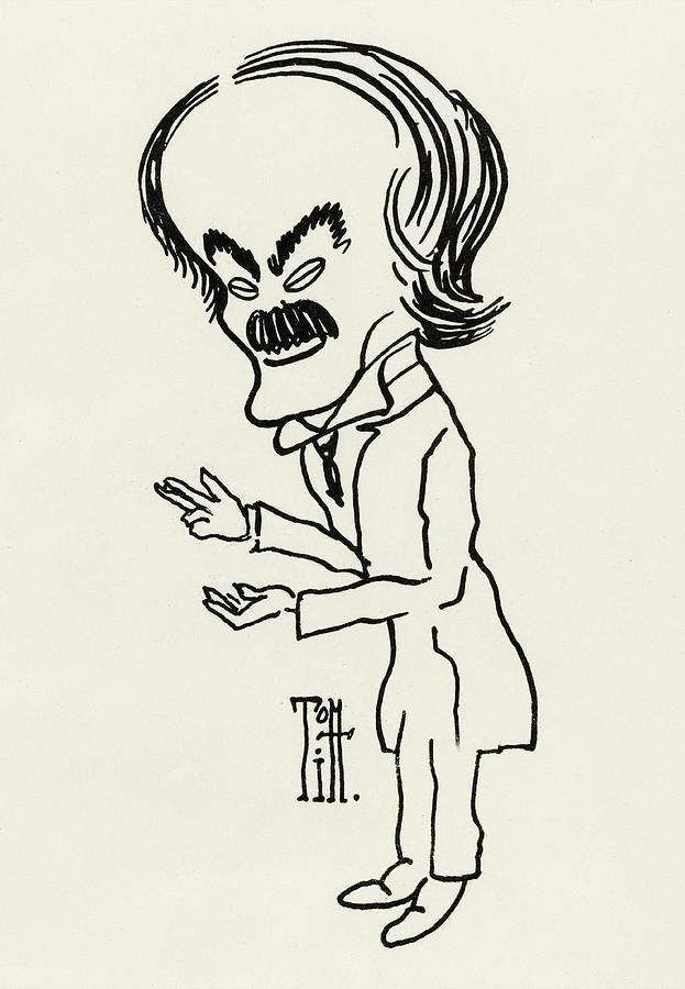 623x900 Cartoon Of David Lloyd George, British Drawing By Mary Evans