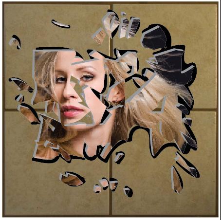 Broken Mirror Reflection Drawing at GetDrawings com   Free