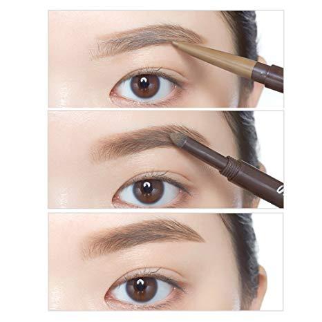 466x466 Etude House Drawing Eye Brow Duo 0.8g ( 1 Dark Brown