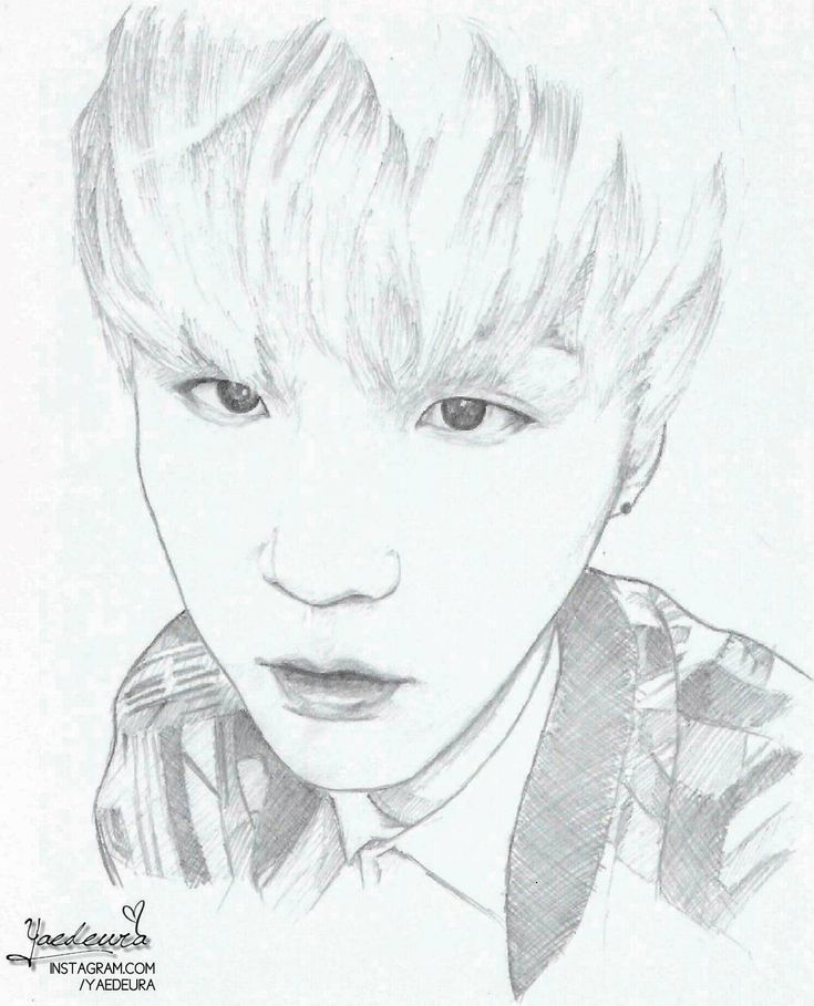 Bts Drawing Easy At Getdrawings Com Free For Personal Use Bts