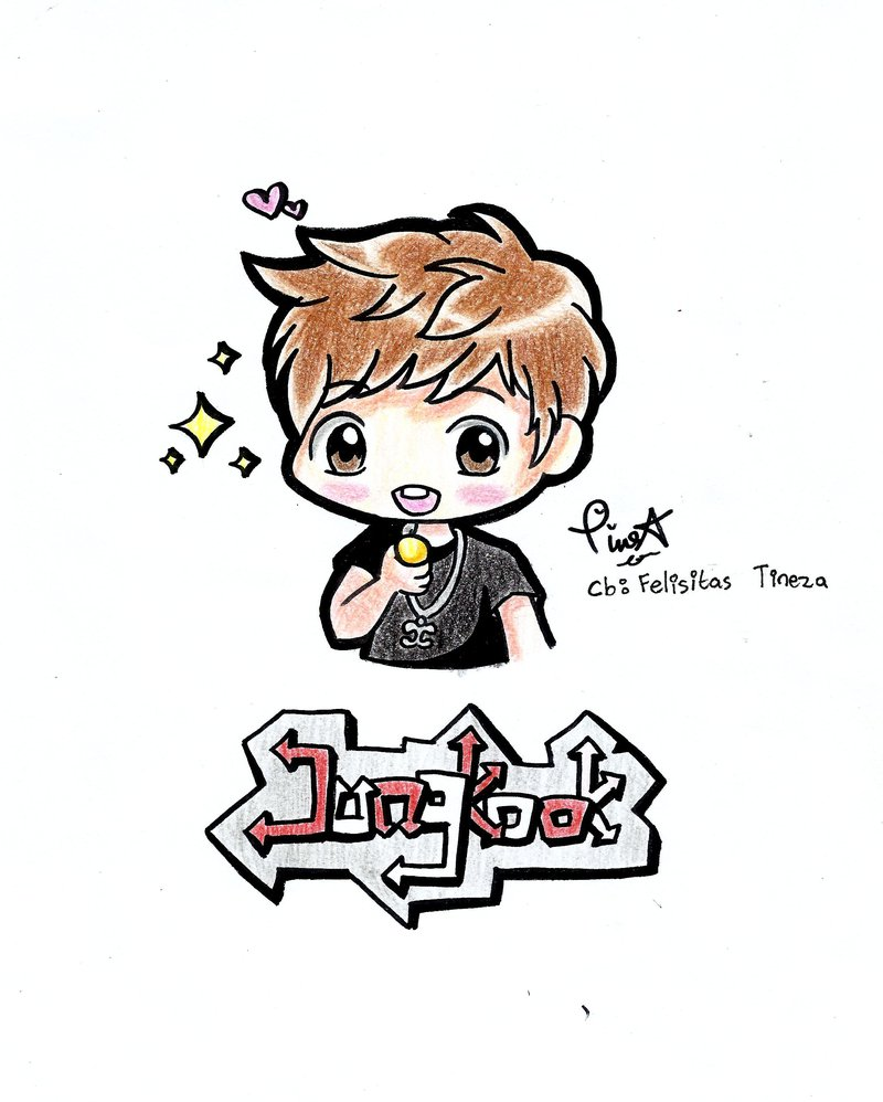 The Best Free Jungkook Drawing Images Download From 64 Free