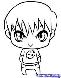 Bts Drawing Chibi Easy At Getdrawings Com Free For Personal Use
