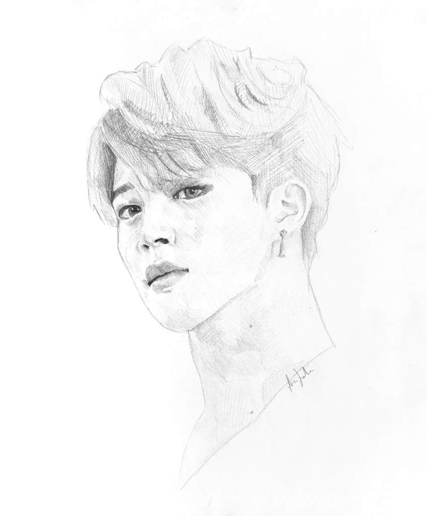 848x1024 Collection Of Jimin Drawing Easy High Quality, Free Cliparts