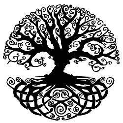 Buddha Tree Drawing
