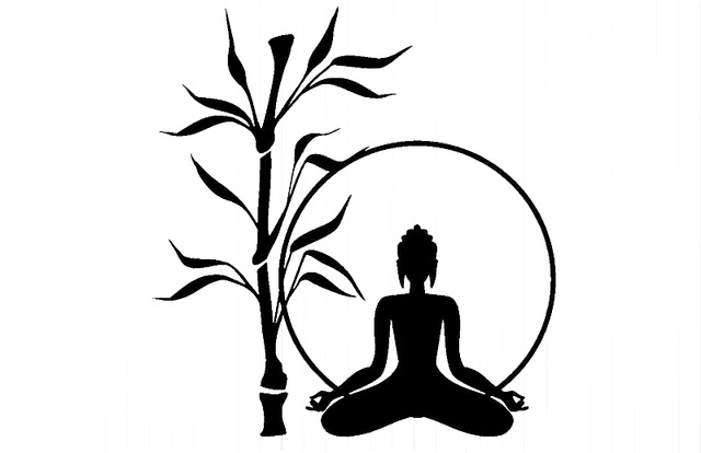 640x414 Yingkai Buddha Tree Relaxation Zen Meditation Living Room Vinyl