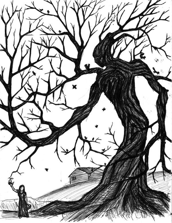600x776 Tree Man By Vadimkish