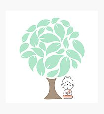 210x230 Bodhi Tree Drawing Photographic Prints Redbubble