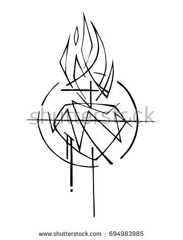 360x470 Hand Drawn Vector Illustration Or Drawing Of Jesus Christ Sacred