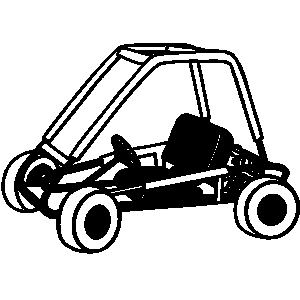 300x300 Sand Dune Buggy Clipart
