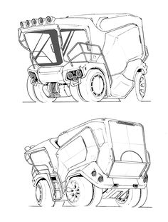 236x311 Urban Buggy, Mike Hill On Artstation