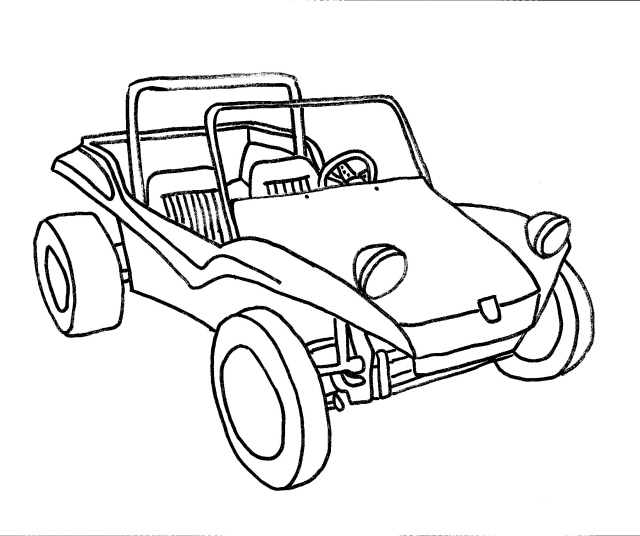 640x536 Clipart Sand Buggy Color Dune Buggy Coloring Pages Metello Dune