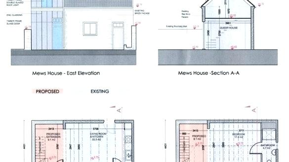 585x329 House Plans Elevation Section House Plan Elevation Section Plan