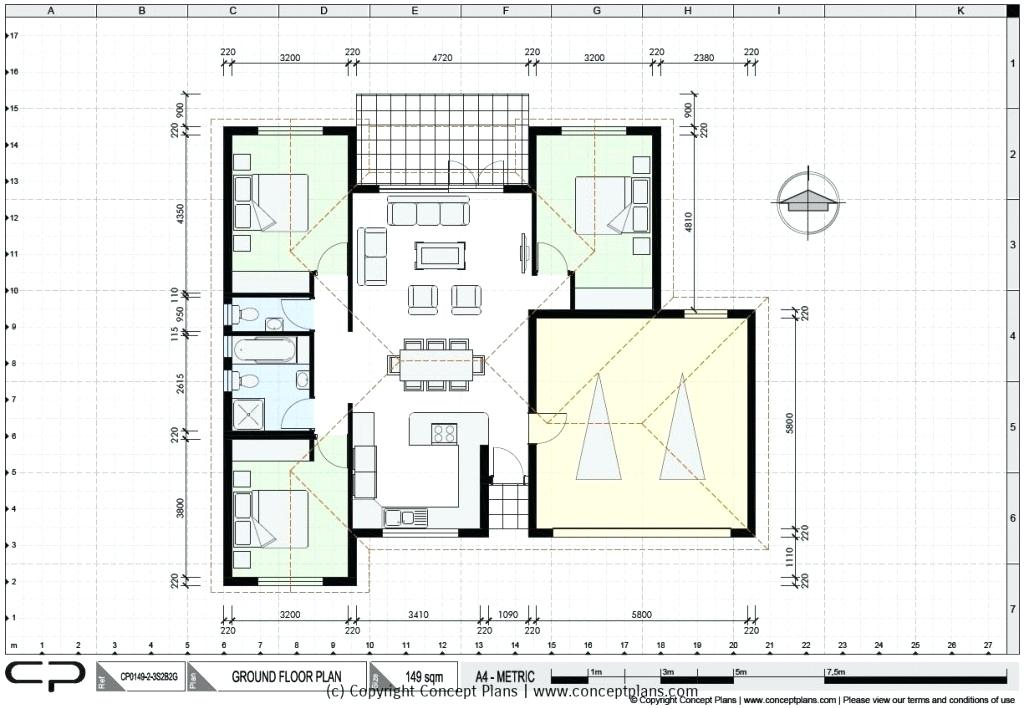 Plan To Elevation Converter : Building drawing plan elevation section pdf at getdrawings