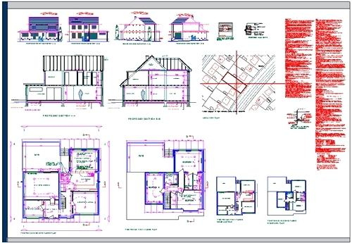 Building Drawing Plan Elevation Section : Building drawing plan elevation section pdf at getdrawings