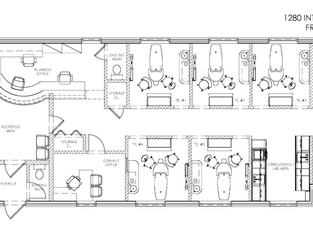 commercial building floor plan pdf