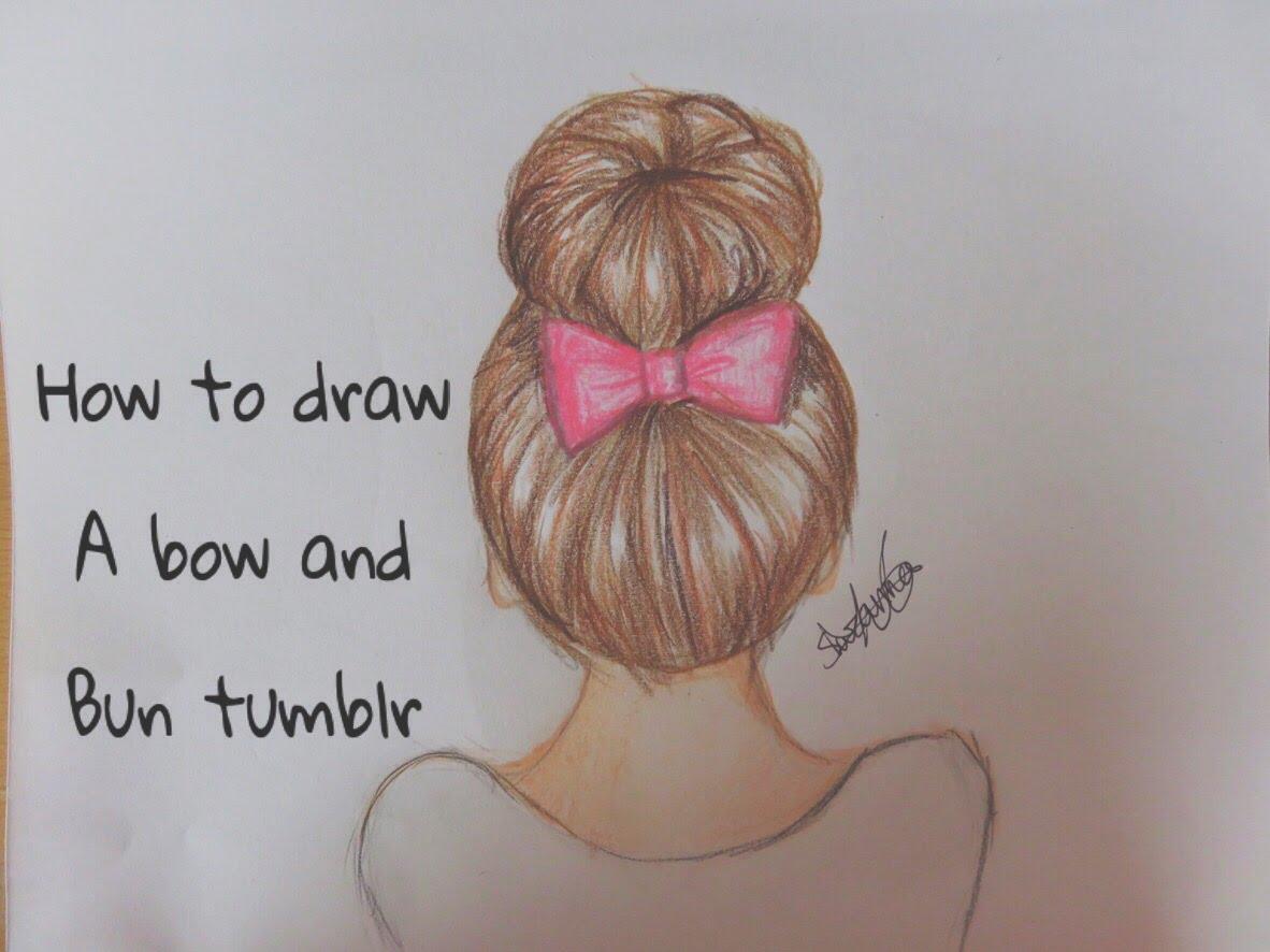 Bun Drawing At Getdrawings Com Free For Personal Use Bun Drawing
