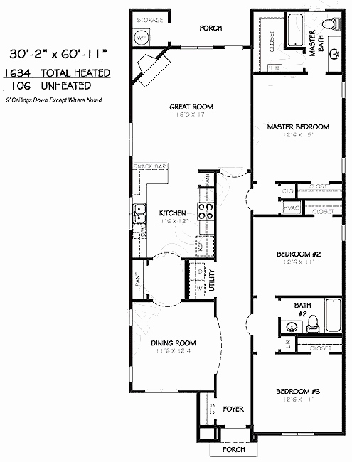 495x650 2 Bedroom Bungalow Floor Plans Inspirational Drawing House Plans